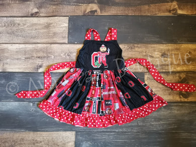 Buckeye Inspired Twirly Dress