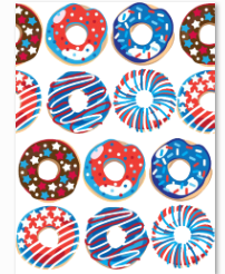 Patriotic Donuts A Print Collection - Preorder
