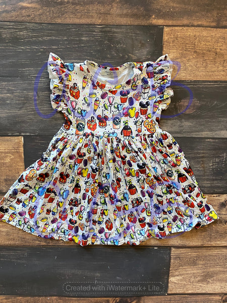 Mickey Treats Flutter Dress