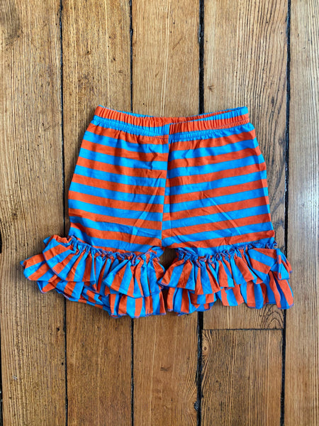 Seuss Red and Blue Stripes Shorts