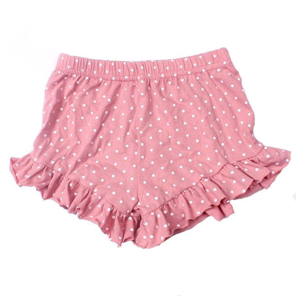Ruffle Shorties - Solid Colors 5T - 9 Preorder Only