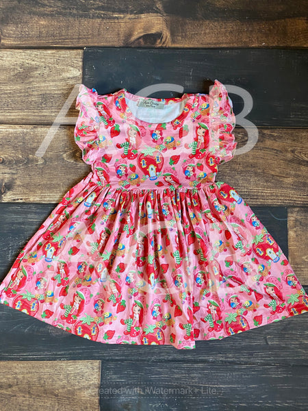 Strawberry Shortcake Flutter Dress