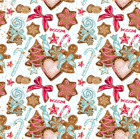 Gingerbread Candy Cane Christmas Collection - Preorder