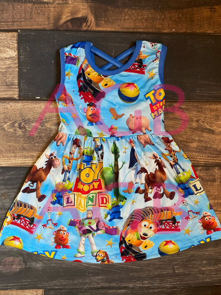 Toy Story Tank Criss Cross Dress