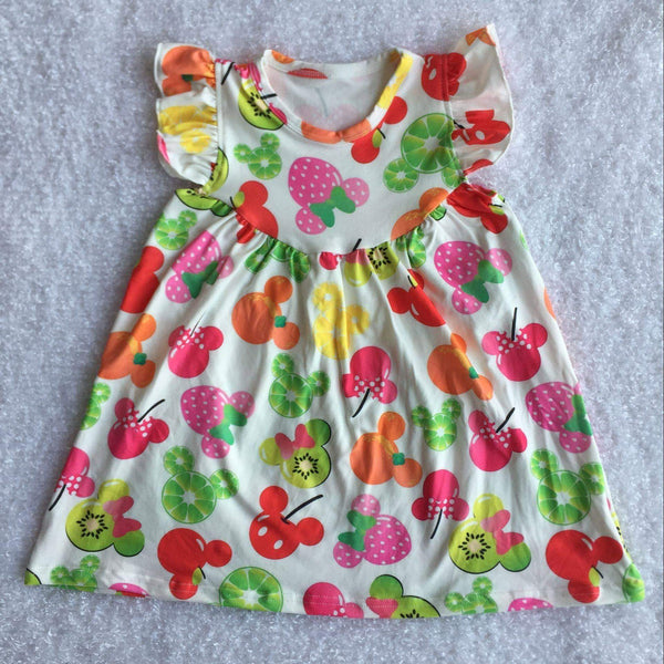 Mickey Fruits Pearl Dress - Preorder