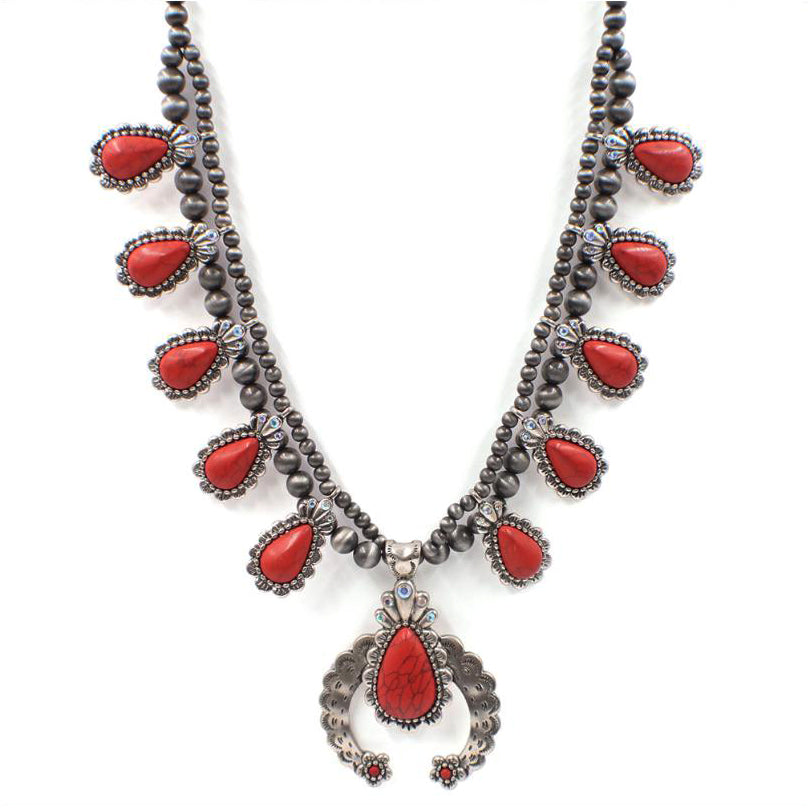 RED STEGINT NECKLACE