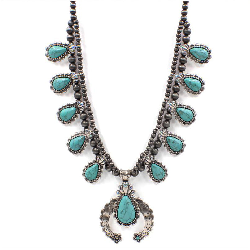 TURQUOISE STEGINT NECKLACE