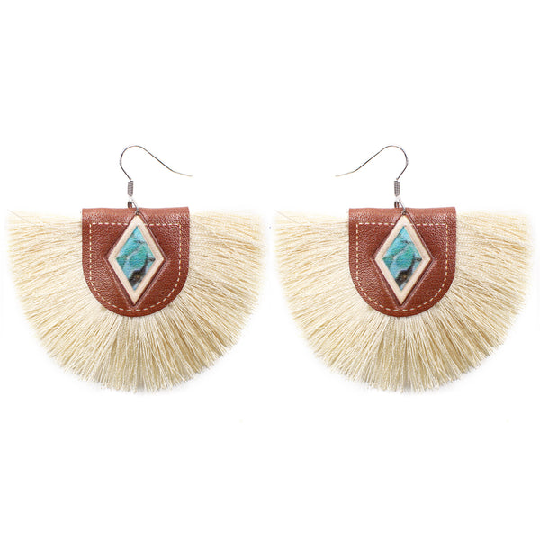 RIVES EARRINGS - IVORY