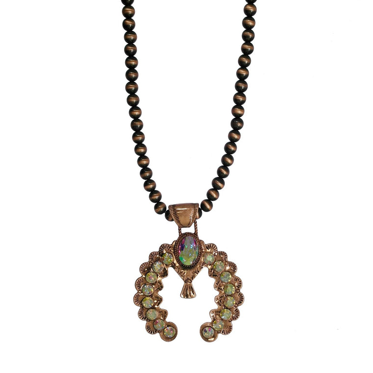 THE CUE NECKLACE - COPPER