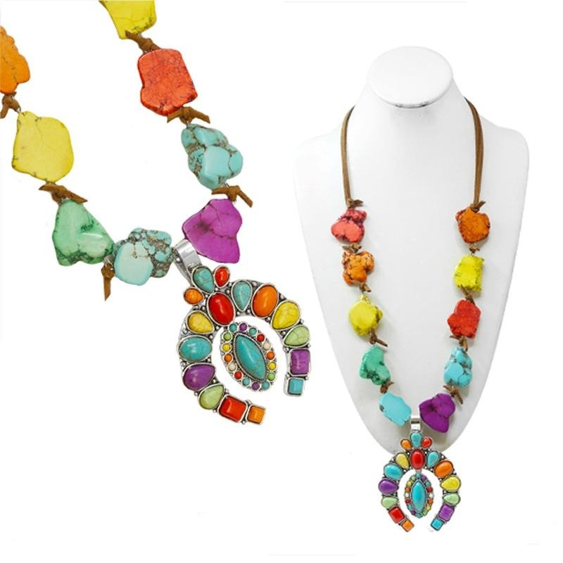 ROCKY MOUNTAIN NECKLACE - MULTI