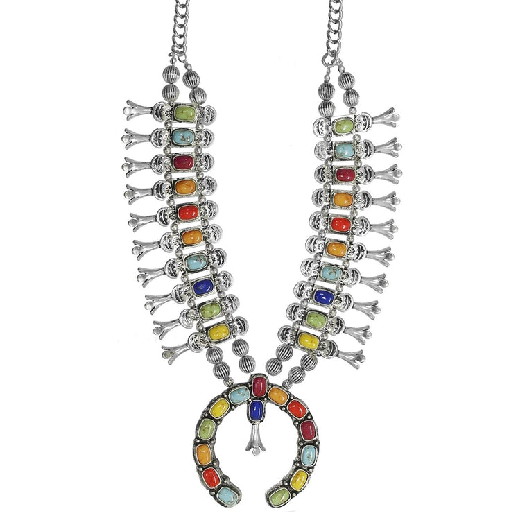 TURTLEBACK NECKLACE - MULTI