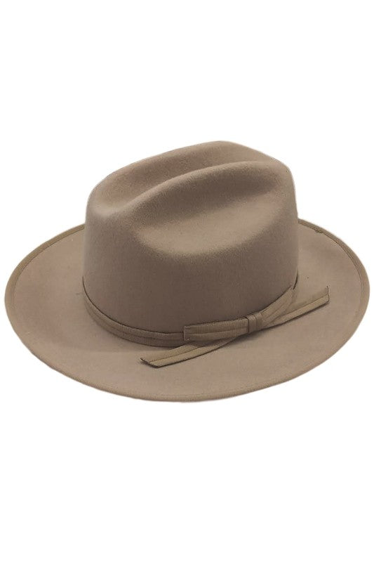 ADDIE CATTLEMAN HAT -BROWN