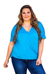 BLUEBELL TOP - CURVY