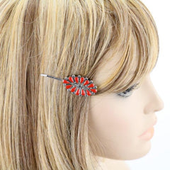 BRANDY BOBBY PIN - RED