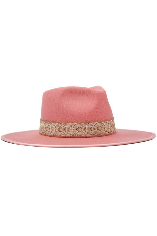 COGBURN HAT - BLUSH