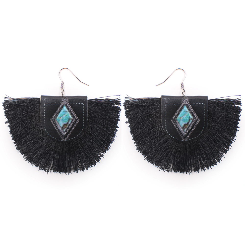 RIVES EARRINGS - BLACK