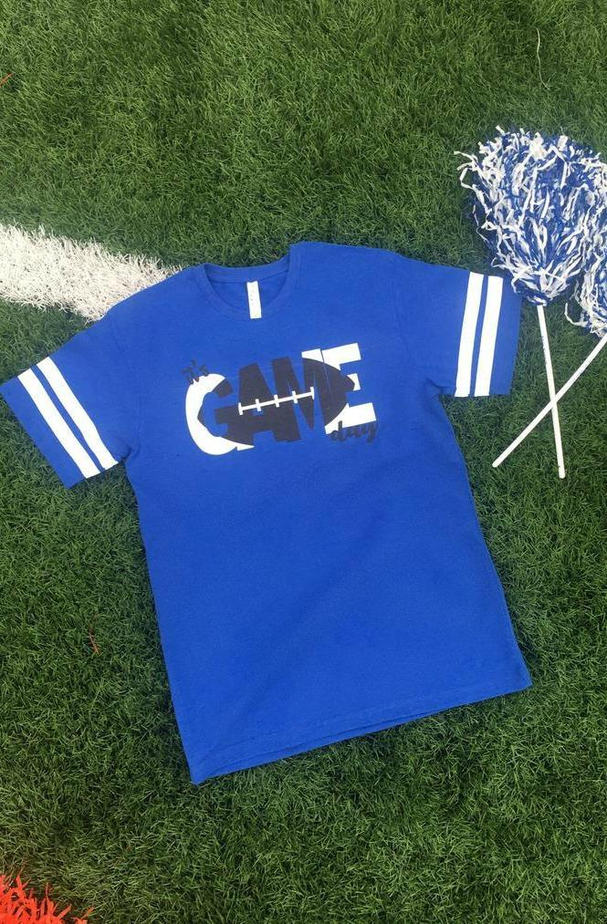GO BIG BLUE TEE