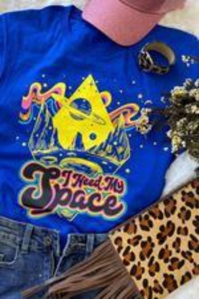 I NEED MY SPACE TEE