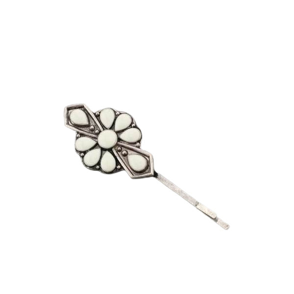 JULIET BOBBY PIN - WHITE