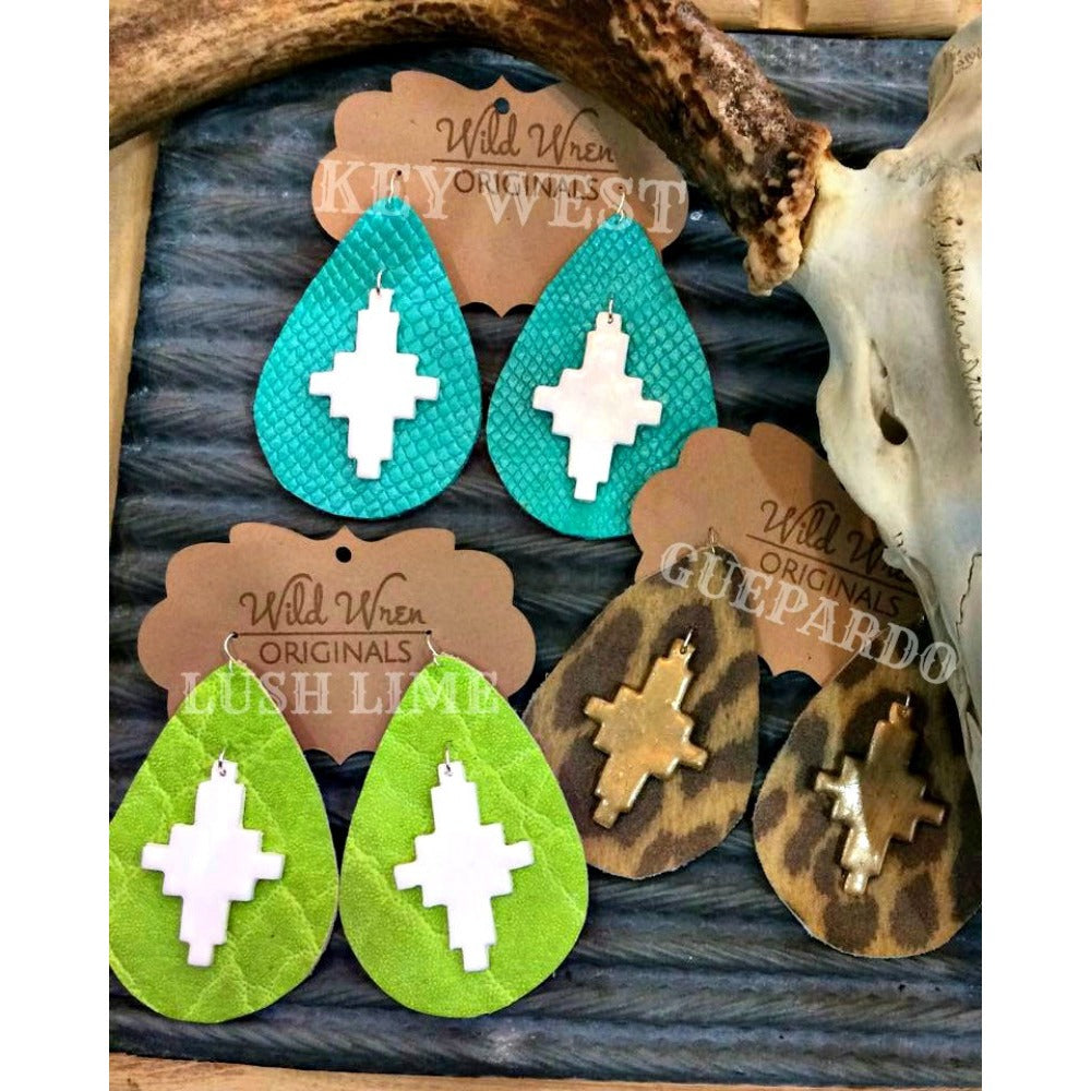 KEY WEST JDC EARRINGS - MEDIUM