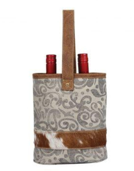 LEAF DOUBLE WINE BAG