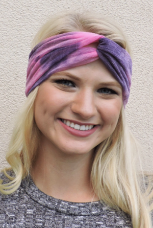 DEJA HEADWRAP - PURPLE