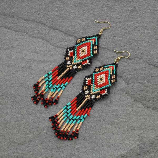 MOHICAN EARRINGS
