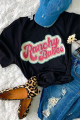 RANCHY BABES TEE - MISSES & PLUS
