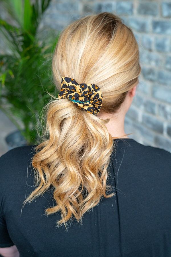 WILDLIFE SCRUNCHIE