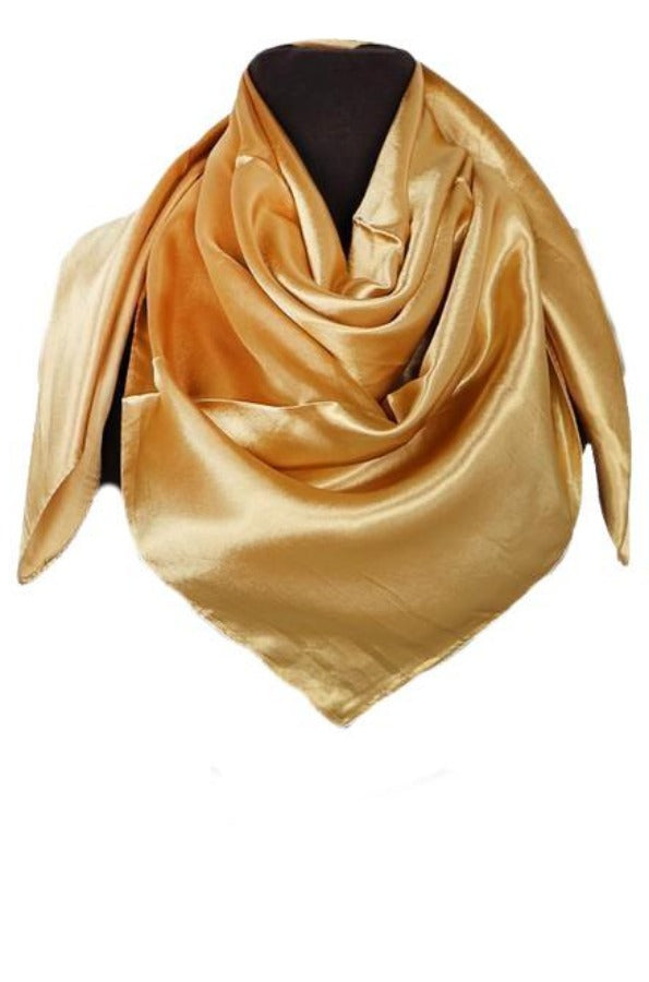 SILK RAG - GOLD