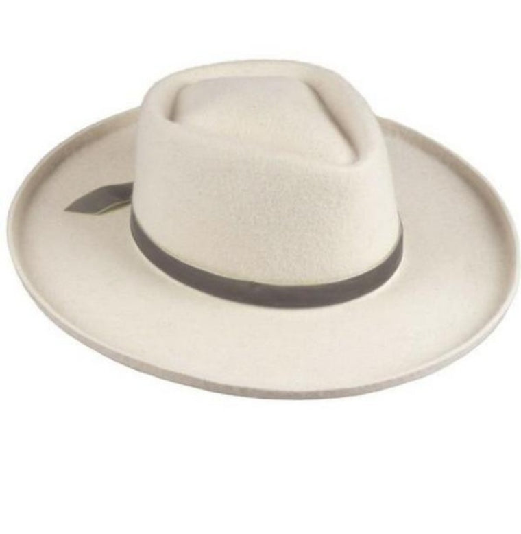 SAMMY RANCHER HAT - WHITE