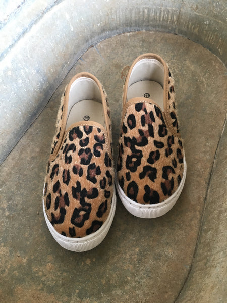 KIDS Leopard Sneaks