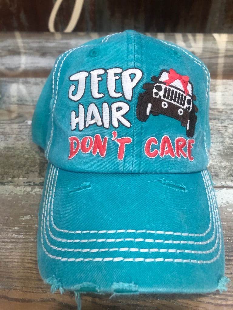 JEEP HAIR DON'T CARE CAP