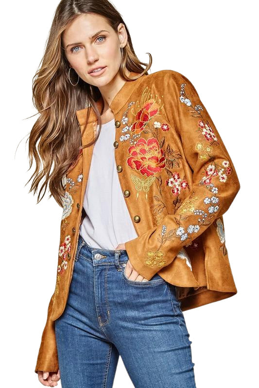 IRON BUTTERFLY JACKET - PLUS