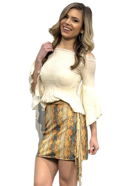 SOUTHERN SLITHER SKIRT