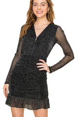 STARLET DRESS - BLACK