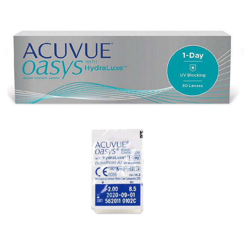 1 Day Acuvue Oasys (30 Lentes)