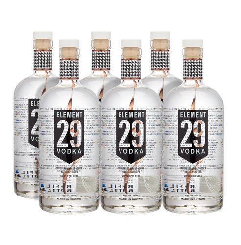 Element 29 Vodka Case 6 x 70cl