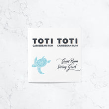 Toti Rum Temporary Tattoo