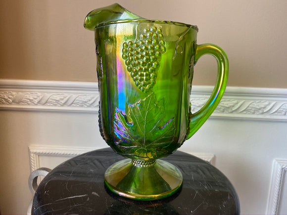 Vintage Indiana Glass Green Large 11