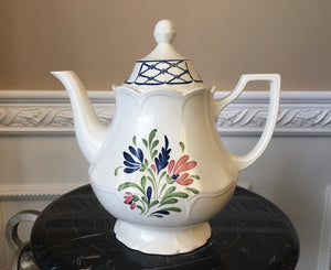 Vintage Johnson Bros England PROVINCIAL 6 Cup Coffee/Teapot