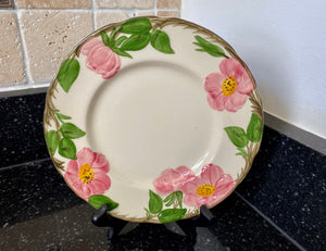 "Franciscan Dinnerware Desert Rose Hand Decorated 8"" Salad Plate - Nature Land Candles"