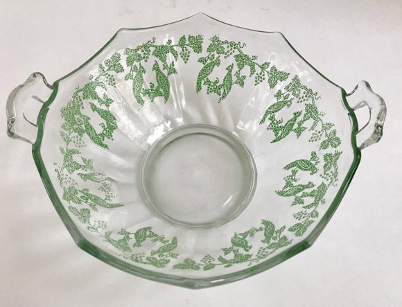 Rare Vintage Depression Glass 8