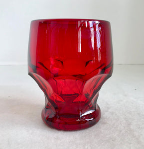 Viking Georgian Ruby Red 8 Oz Juice Glass - Nature Land Candles