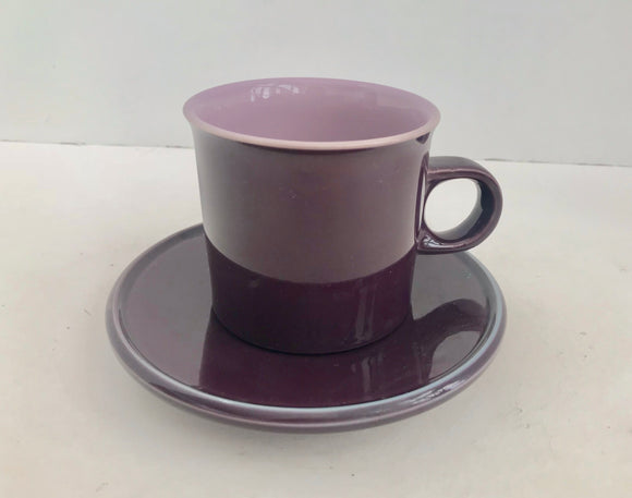 Noritake Primastone Fantasy 8317 Coffee Cup and Saucer - Nature Land Candles