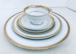 Noritake China Japan 6124 Richmond 5 Piece Place Setting - Nature Land Candles