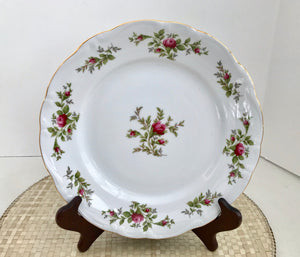 "Johann Haviland Traditions Fine China Moss Rose 10"" Dinner Plate - Nature Land Candles"