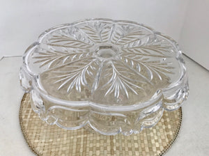 "Royal Limited Bohemia Czech 24% Lead Crystal 11"" Cake Stand - Nature Land Candles"