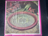 "Vintage Indiana Glass Crystal Diamond Point 12"" Hostess Plate Ruby Band - Nature Land Candles"