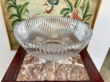 "Mikasa Diamond Fire 10"" Footed Bowl With Original Box - Nature Land Candles"